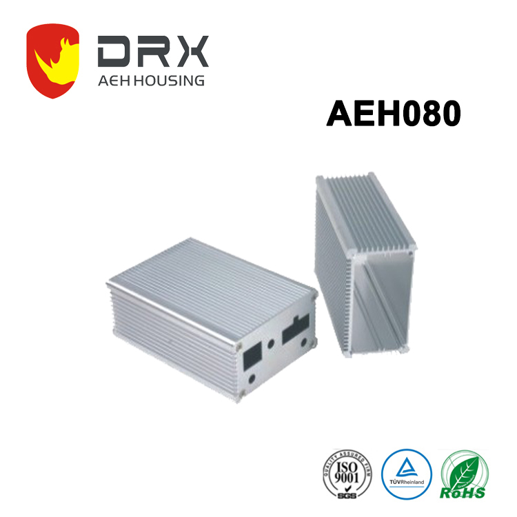 aluminum extruded enclosure metal housing case for electronic board for 70mm width PCB
