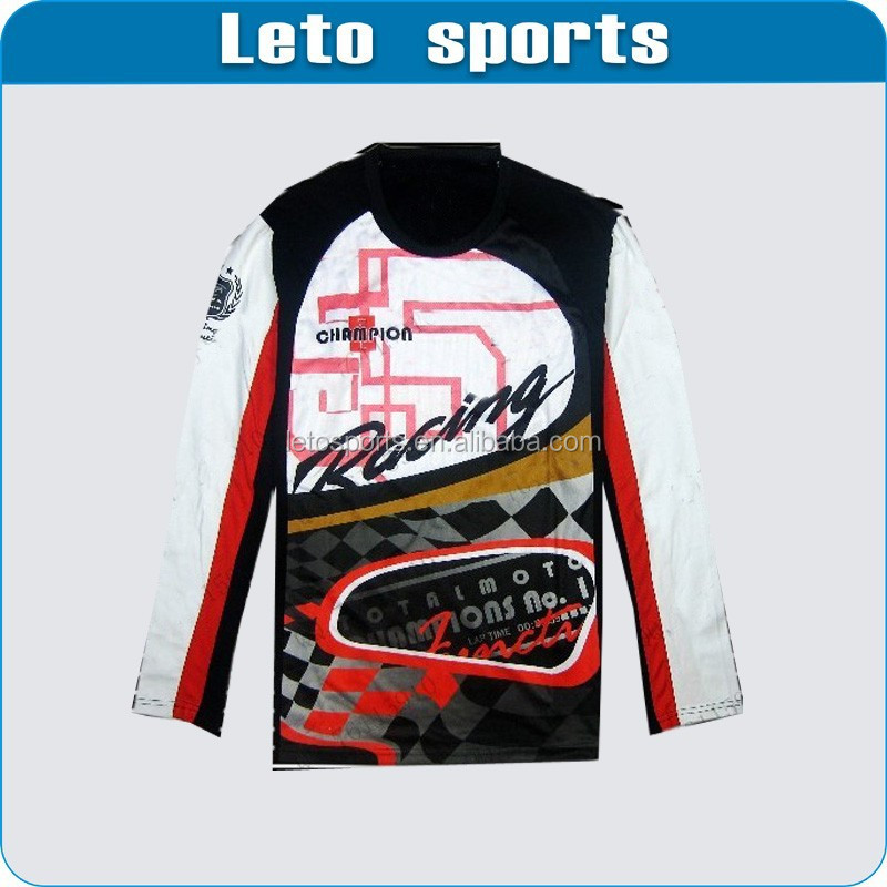 pullover BMX motor racing jerseys