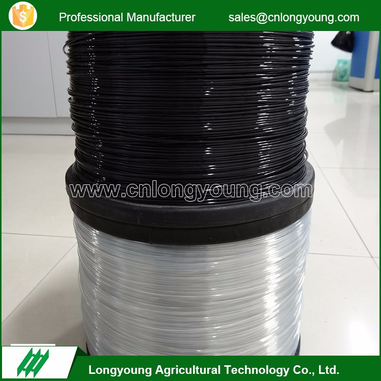 High quality greenhouse agriculture shade net holding polyester wire