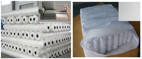 100% PP spunbonded non-woven sofa textile/upholstery fabric
