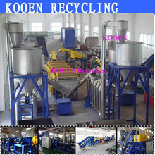 High performance waste battery plastic recycling machine