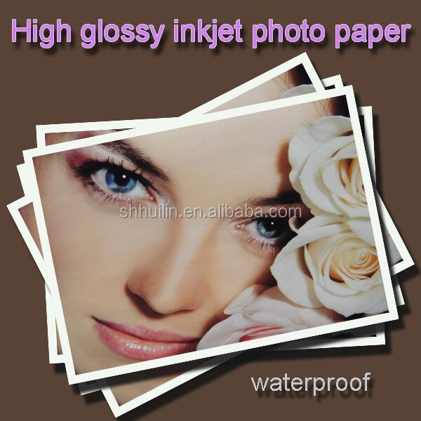 A4 Inkjet High Glossy Photo Paper Glossy For Epson, Hiti and Mitsubishi Inkjet Printer