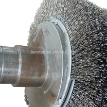 wood working wire brush roller