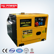 Power portable 5 kw electric diesel generator set for home use with price