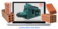 China manual hollow brick making machine