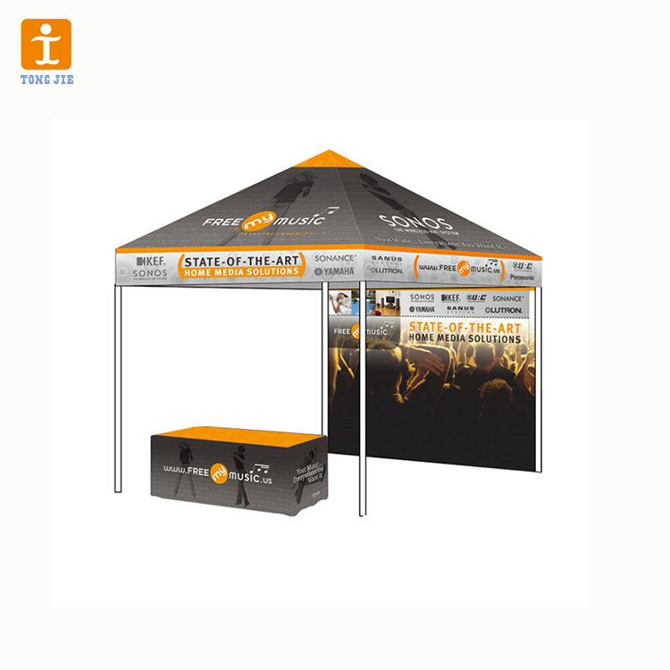Modern 10x10 cheap custom printed portable pop up canopy tent for promotion event