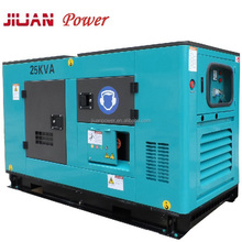 guangzhou factory price sale 20KW power silent electric diesel generator set genset generator 25 kva generator avr