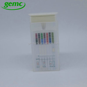 CE&ISO13485 Approved Rapid Saliva Drug Testing 10 DOA Cup