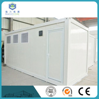 reasonable price 20ft modular office container with eco-friendly construction material