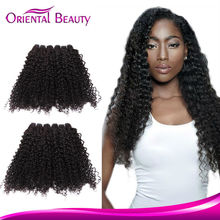 Real Kinky Curly Micro Ring Indian Hair Weave Extensions For Sale
