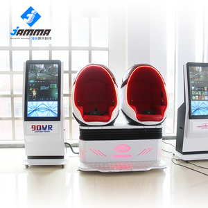 2 seat robot 3d 9d glasses vr indoor game equipment cinema simulator