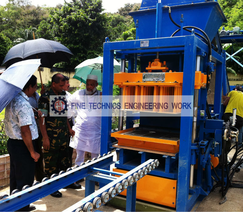 Concrete Block Making Machine (FT 24 AH)