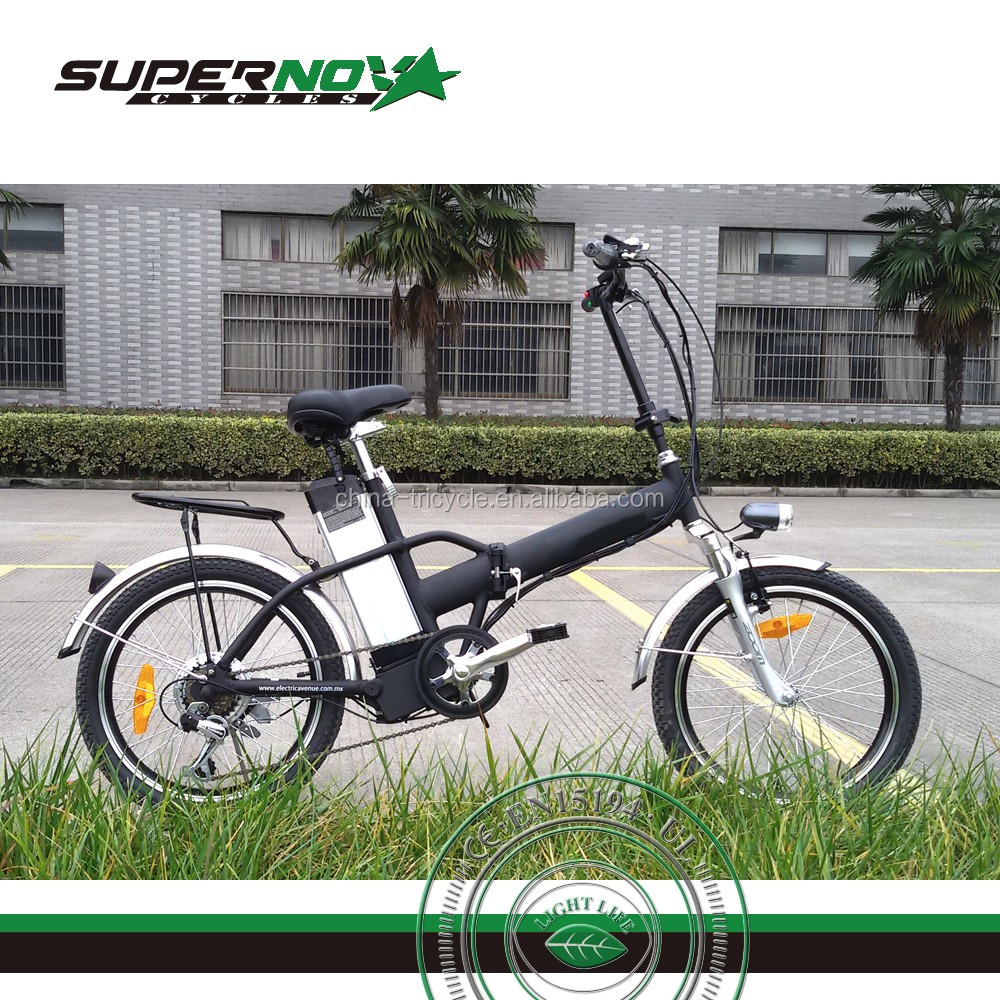 folding electric mountain bike 20 inch portable ebike