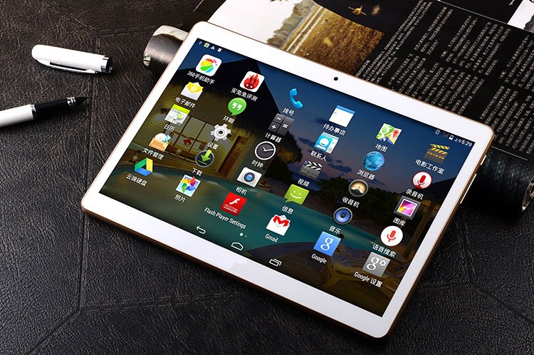 IPS Quad core Tablet PC dual boot tablet