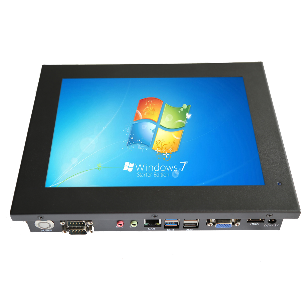 Cheap 10.4 inch industrial panel PC with 2 RS232