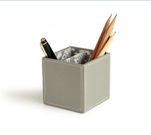 Concise Faux Leather Multifunctional pen holder storage combination organizer functional office accessories pen container