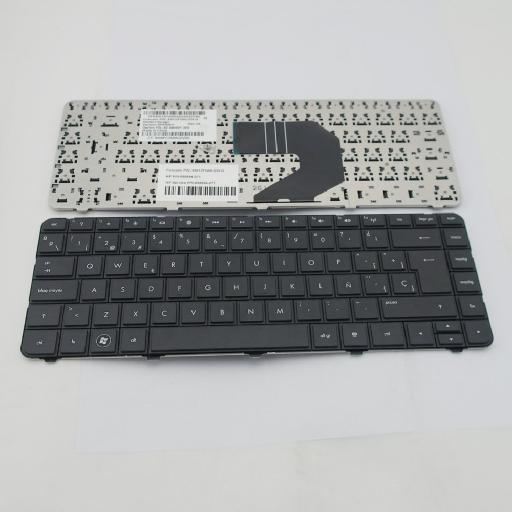 100% Working and NEW Layout SP Spanish Laptop Keyboard for HP G4 G43 CQ43