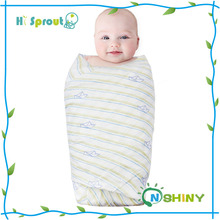 Baby Muslin Swaddle Blanket Single Soft 100% Bamboo Swaddle Large Baby Swaddles for Quality Baby Comfort