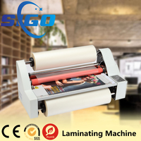SIGO Multifunction Cold and Dry Roll to Roll Laminating Machine (with heating function)