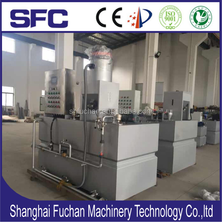 Auto Dosing Unit Efficient Flocculation Preparation System For Wastewater Treatment