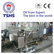 Made in Taiwan Commercial Continuous Tofu Oil Fryer