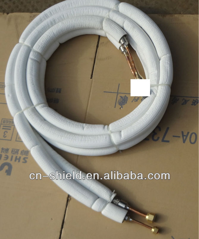 Stainless Steel Flexible Air Conditioner Insulation Connecting Pipe Kits