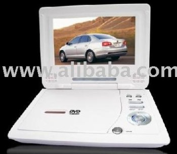 "7"" Portable DVD Player with Basic function for Promotion"