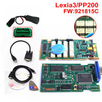 NEC Relay and 921815C Firware Newest!!! Lexia3 PP2000 V48/V25 Lexia 3 Diagbox 7.76 For Citroen Peugeot