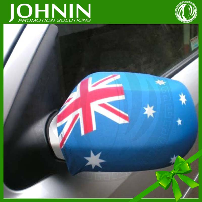 Wholesale Durable Fabric With Spandex Australia Flag Car Mirror Cover