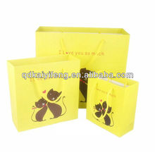 2014 Cord Handle Brown Kraft Paper Bags