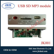 JK001 usb sd circuit board mp3 audio decoder chip