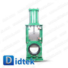 Didtek Soft Seated Slurry Knife Gate Valve
