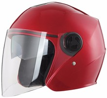 Stylish cheap open face scooter motorcycle helmets with dual visors