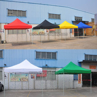 Promotional beach gazebo canopy steel aluminium outdoor folding marquee tent