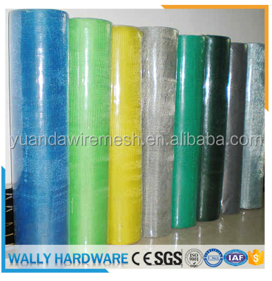 2016 factory hot sales mosquito nets/ insect net / green window screen