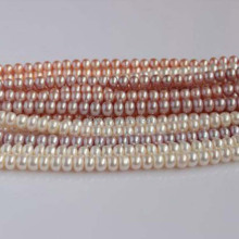 Wholesale Fresh water Pearl Strands 6-7mm Beads for Handmade Jewelry