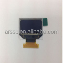 0.95 inch transparent oled screen with white color