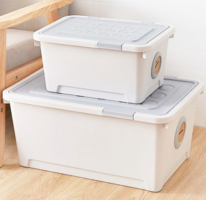 Plastic Storage Modular Stackable Bins Cute Fancy Toy Storage Box Compartment Storage Boxes