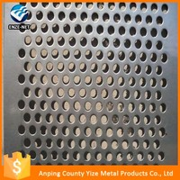 Multifunctional cheap modern painting perforated metal mesh