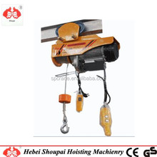 construction wireless remote control lifting tools mini pa500 model 500kg winch electric hoist 220V