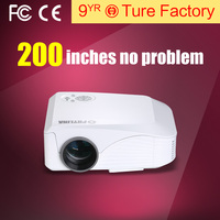 Hot Sale 1800 Lumens Brightness Native 800x480 Resolution Full HD 1080P HD Led Projector