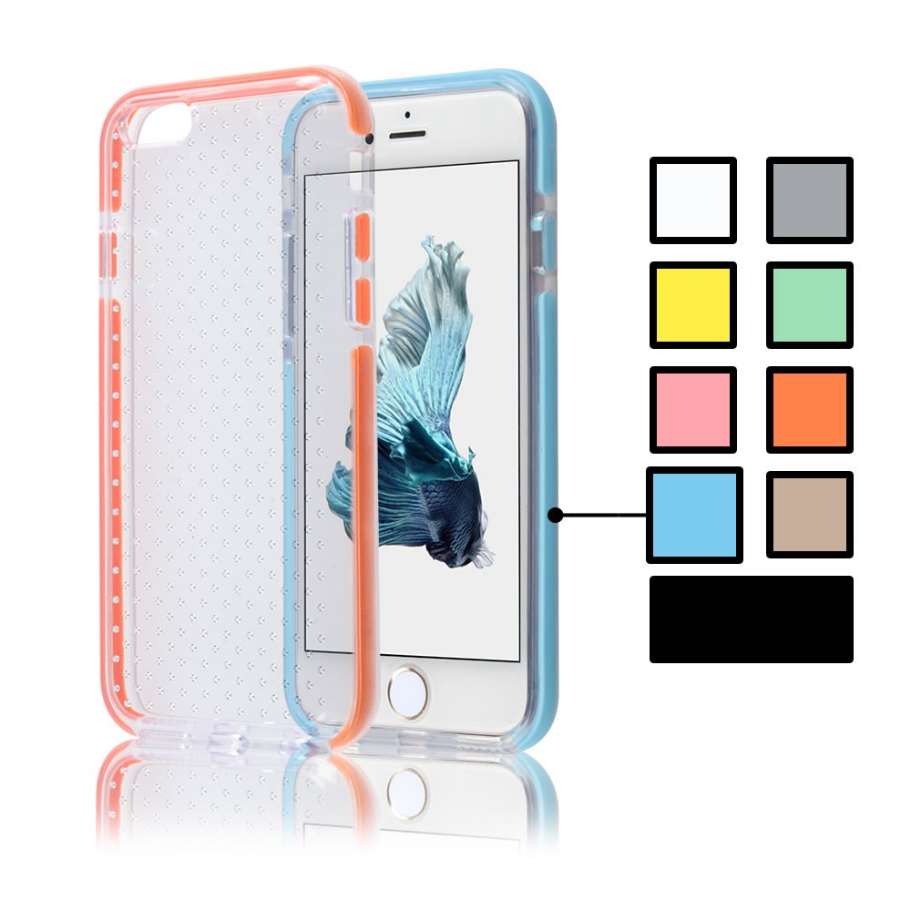For iPhone 7 Heavy Duty Shockproof Case Crystal Clear Ultra Slim Flexible TPU Bumper Protective Cover Case for Apple iPhone 7