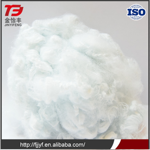 PET flakes materials recycled polyester staple fiber for padding price