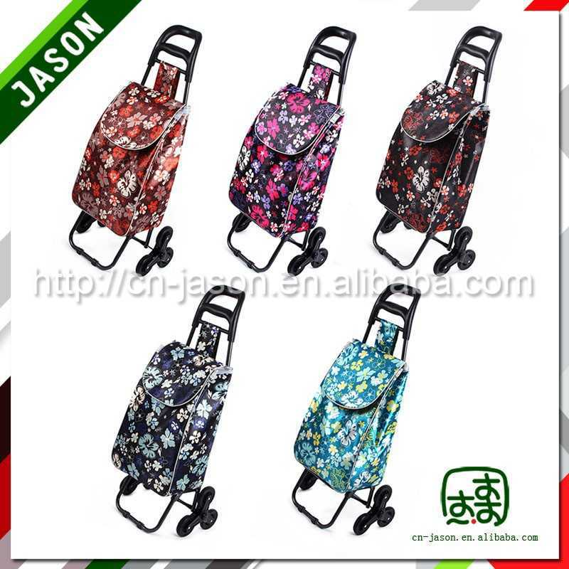 foldable luggage cart metal hand trolley for tyre