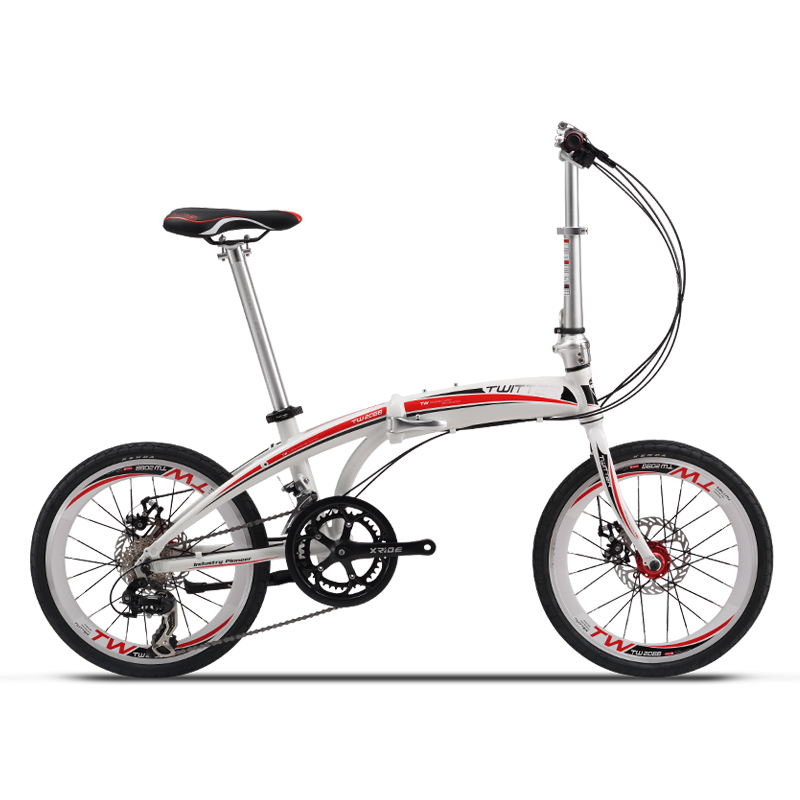 Chinese supplier hot selling 20 inch Aluminum Alloy superlight folding bicycle for women/girls/ladies/female