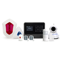 Golden Security GS-G90B plus Contact ID WiFi alarm system & Wireless/wired WiFi GSM/3G GPRS home alarm system