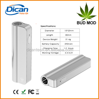 DICAN smart cbd mod box battery vape bho extract oil 510 thread oil atomizer cartridge new cbd vaporizer ecig