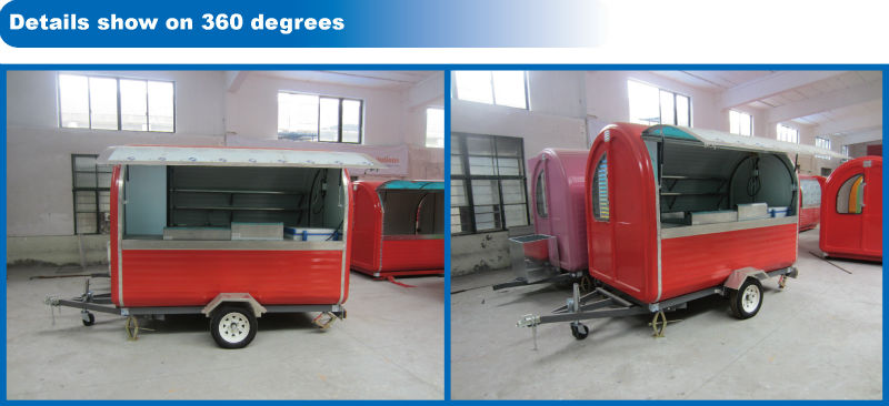 BAOJU FV-22BNew model high quality hot dog cart malaysia hot dog cart cheap price hot dog cart