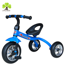2018 Hot Sale simple Baby Tricycle Toy / Easy Portable And Storage Baby Bicycle 3 Wheels Plastic Tricycle Kids Pedal Bike