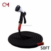 Good quality expand hose garden hose expandable spray nozzle wholesale flexible hose pipe